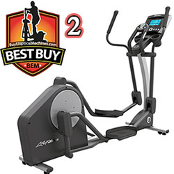 best buy elliptical: life fitness x3